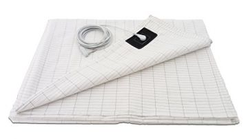 EMF Radiation Grounding 100% Organic Cotton Sheet 305 x 90cm (120x35 Inches)